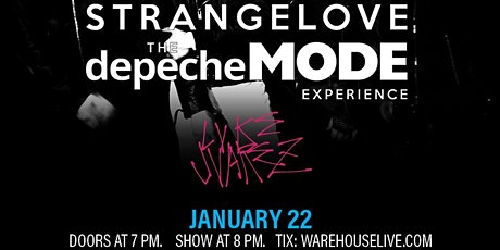 STRANGELOVE (THE DEPECHE MODE EXPERIENCE) tickets