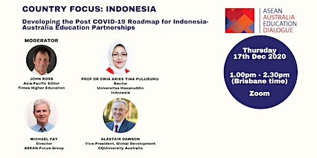 AAED Webinar: Country Focus Indonesia tickets