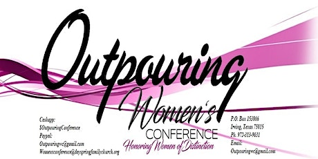 Outpouring Women's Conference Date TBD tickets