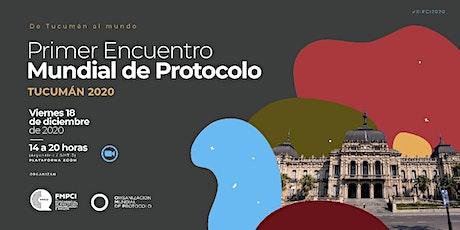 Seminario Internacional de Protocolo, Comunicación e Imagen. entradas