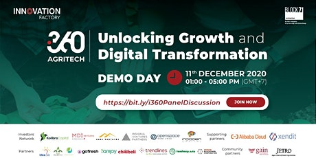 i360 Agritech : Unlocking Growth and Digital Transformation tickets
