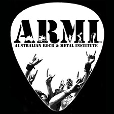 ARMI Australian Rock and Metal Institute logo