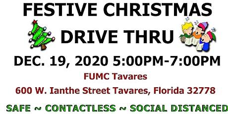 FREE Live Nativity and Festive Christmas Drive Thru tickets