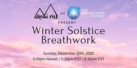 Winter Solstice Breathwork tickets
