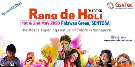 Rang De Holi 2021 tickets
