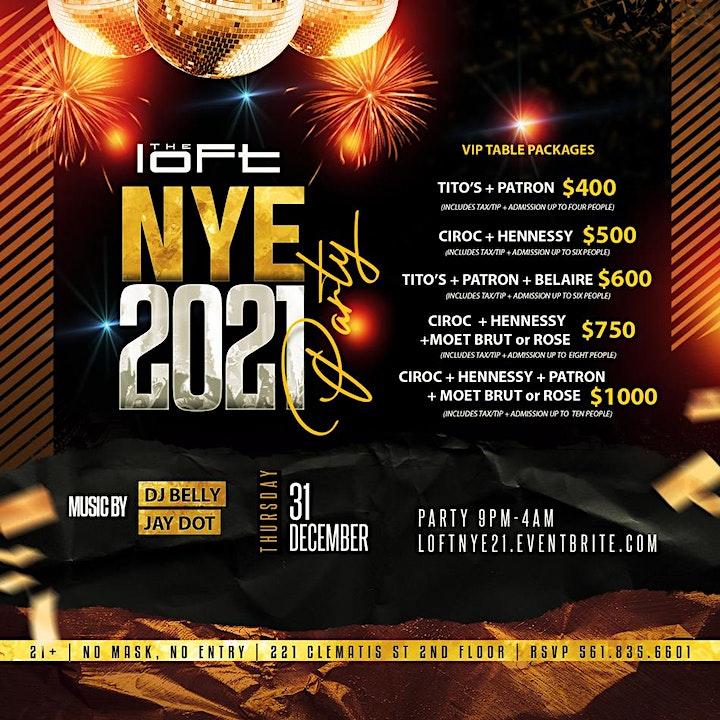 NYE 2021 | The Loft image