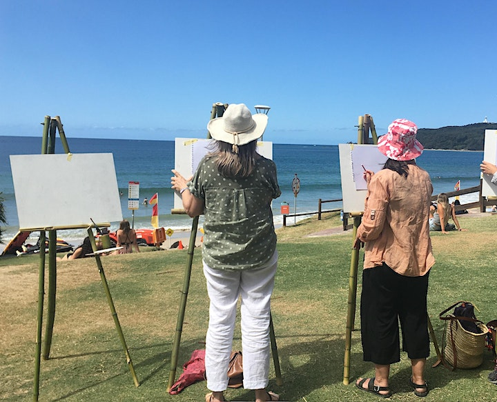Outdoor Painting in Byron Bay image