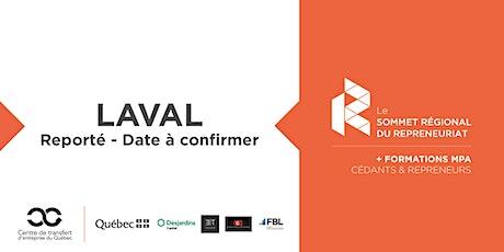 REPORTÉ - Sommet régional du repreneuriat à Laval + Formations MPA billets