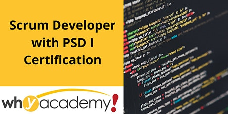 Scrum Developer with PSD I Certification - HK  tickets