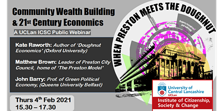 When Preston Meets the Doughnut: Community Wealth Building &  C21 Economics tickets