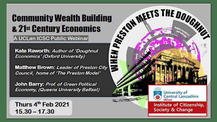 When Preston Meets the Doughnut: Community Wealth Building &  C21 Economics image