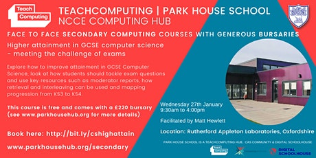 GCSE Computer Science - Higher Attainment in GCSE Computer Science tickets