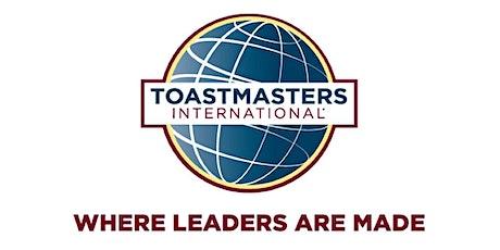 New Beginnings Toastmasters tickets