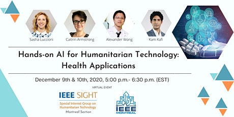 Hands-on AI for Humanitarian Technology: Health Applications tickets