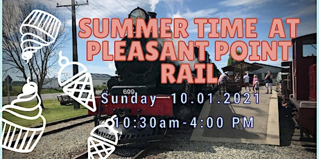 Summer Time at Pleasant Point Rail tickets