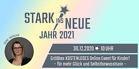 STARK ins neue Jahr - größtes Online Event für Kinder mit Sarah Tickets
