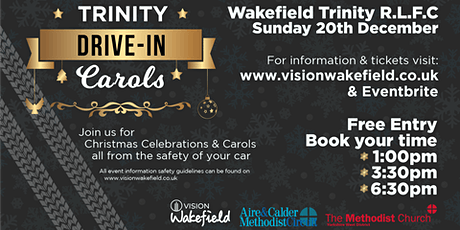 Trinity Drive-In Carols tickets