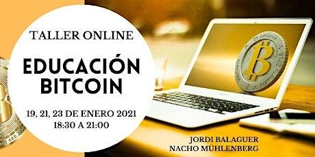 Curso de iniciación al  Bitcoin y las criptomonedas entradas