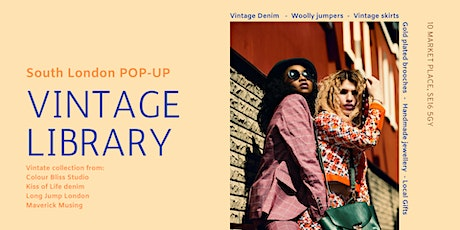 Vintage Library - A South London Vintage Pop-Up tickets