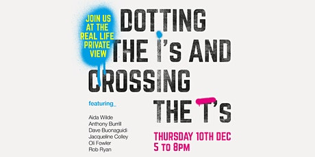 DOTTING THE I'S AND CROSSING THE T'S - Better Late Than Never! tickets
