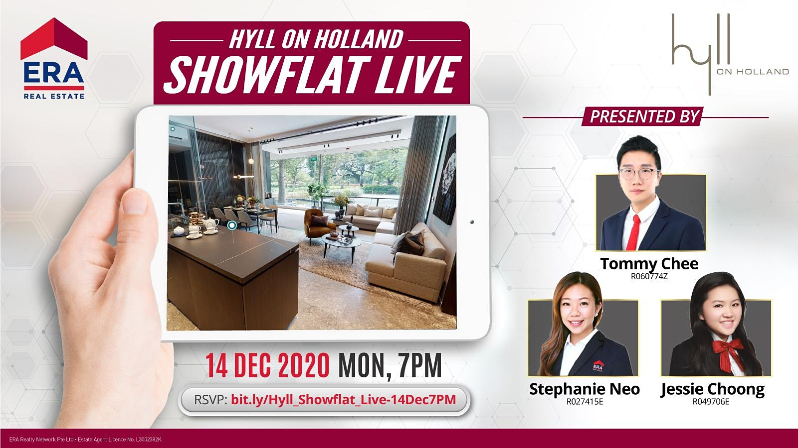 Hyll on Holland Showflat Live