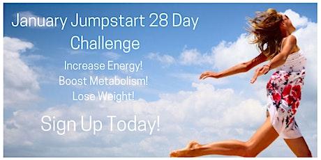 January Jumpstart 28 Day Group Challenge! tickets