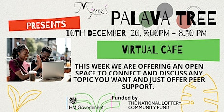 Palava Tree Virtual Cafe with guest tickets