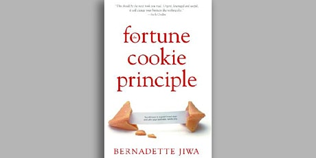 Book Review & Discussion : The Fortune Cookie Principle tickets