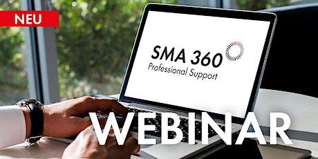 SMA 360° und SMA Energy: Optimale App-Unterstützung für alle Fälle Tickets