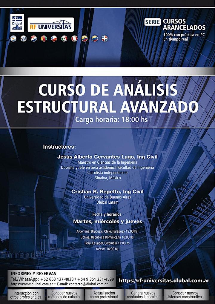 Imagen de Curso práctico de análisis estructural avanzado. MEF y mod. no lineales. AR