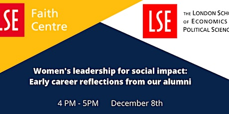 Women's leadership for social impact: Early career reflections from our alu tickets