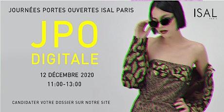 JOURNÉE PORTES OUVERTES DÉCEMBRE 2020 billets