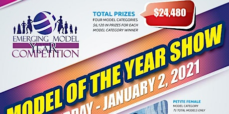 REGISTRATION SIGN UP - 2021 FASHION MODEL OF THE YEAR COMPETITION SHOW IN tickets