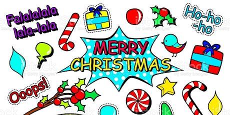 Children's Art Webinar 'Pop Art Christmas' tickets