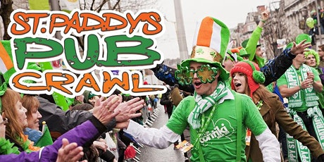 """Athens """"Luck of the Irish"""" Pub Crawl St Paddy's Weekend 2021 tickets"""