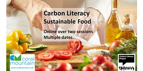 Carbon Literacy - Sustainable Food tickets