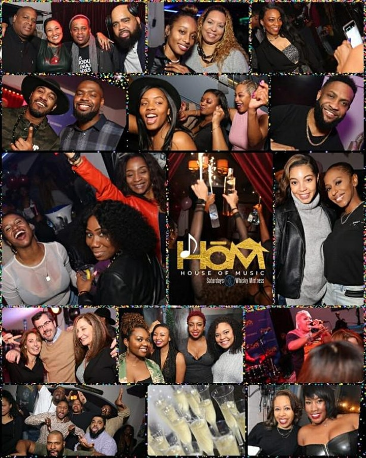 HOUSE OF MUSIC DAY PARTY + AFTER PARTY Saturdays @ Whiskey Mistress image