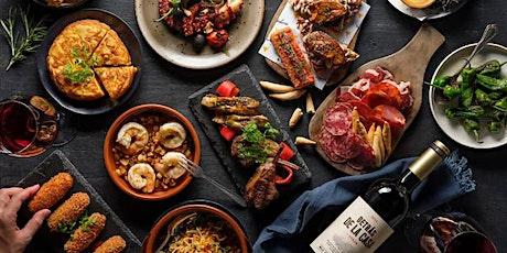 Spanish food night tickets