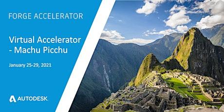 Autodesk Virtual Forge Accelerator, Machu Picchu - January 25-29, 2021 tickets