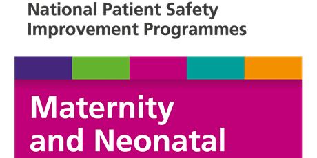 Maternity and Neonatal Safety Improvement Network (MatNeoSIP) Event tickets