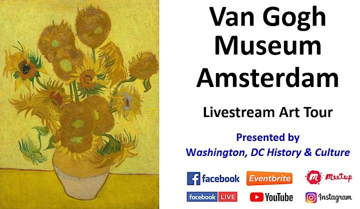 Van Gogh Museum - Amsterdam: Livestream Art Tour Program Tickets, Sun, Oct  17, 2021 at 11:00 AM | Eventbrite