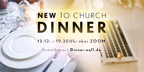 New To Church Dinner Tickets