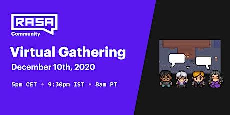 Rasa Community - Virtual Gathering tickets