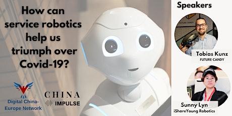How can service robotics help us triumph over Covid-19? tickets