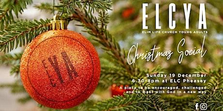 ELCYA Christmas Social tickets