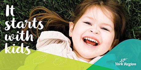 York Region Public Health COVID 19 Presentation for Child Care Educators tickets