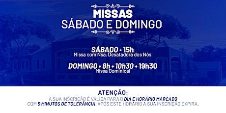 Missa Sábado e Domingo - 12 e 13 de Dezembro  -  P.  N. Sra. da Assunção ingressos