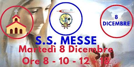 S.S. Messe MARTEDÌ 8 Dicembre 2020 biglietti