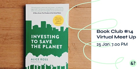 Sustainability Book Club #14 - Investing to Save the Planet tickets