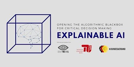 Explainable AI - Opening the Algorithmic Blackbox... tickets